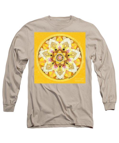 Buddha Sun Mandala Long Sleeve T-Shirt