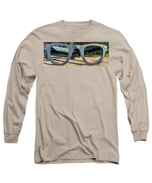 Buddy Holly Glasses Long Sleeve T-Shirt