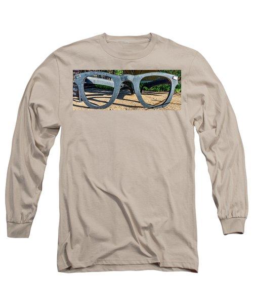 Buddy Holly Glasses Long Sleeve T-Shirt