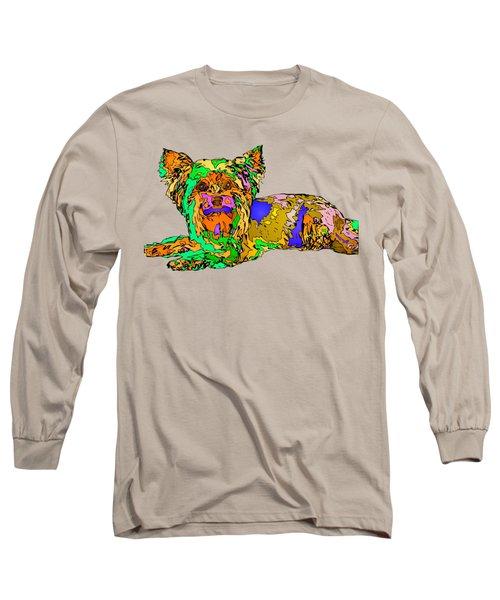 Buddy. Pet Series Long Sleeve T-Shirt