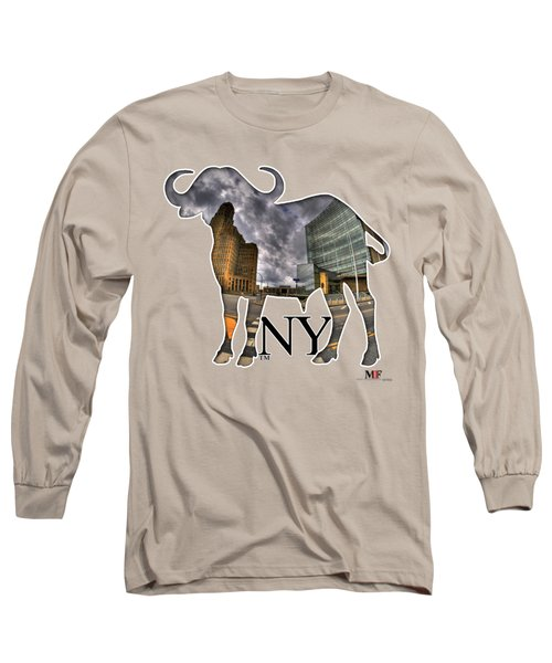Buffalo Ny City Hall And Court Building Long Sleeve T-Shirt