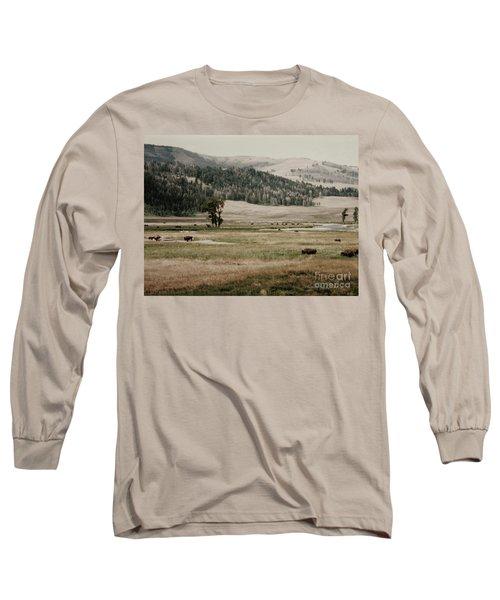 Buffalo Roam Long Sleeve T-Shirt