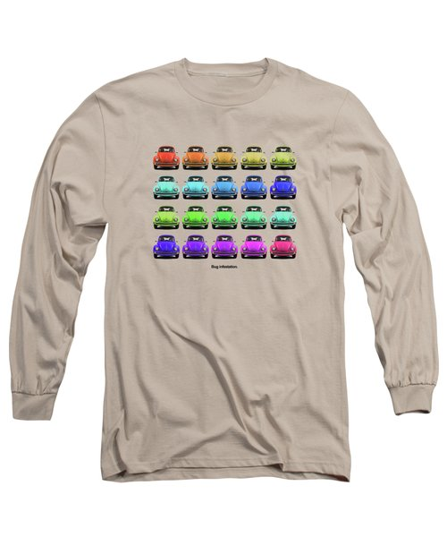Bug Infestation. Long Sleeve T-Shirt