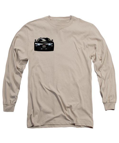 Bugatti Veyron Long Sleeve T-Shirt by Mark Rogan