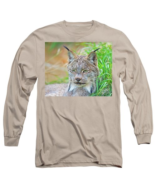 Long Sleeve T-Shirt featuring the photograph Built In Hearing Aid.. by Nina Stavlund