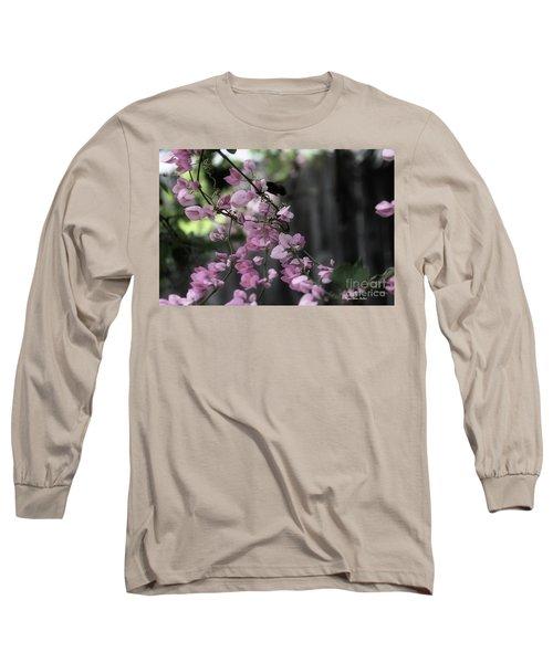 Long Sleeve T-Shirt featuring the photograph Bumble by Megan Dirsa-DuBois