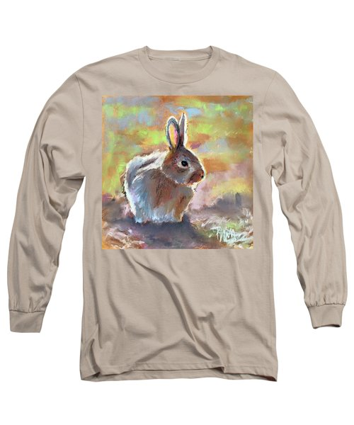 Bunny Long Sleeve T-Shirt by Pattie Wall