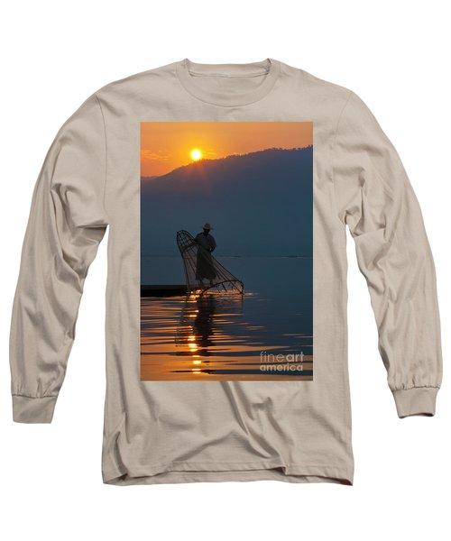 Burma_d143 Long Sleeve T-Shirt by Craig Lovell