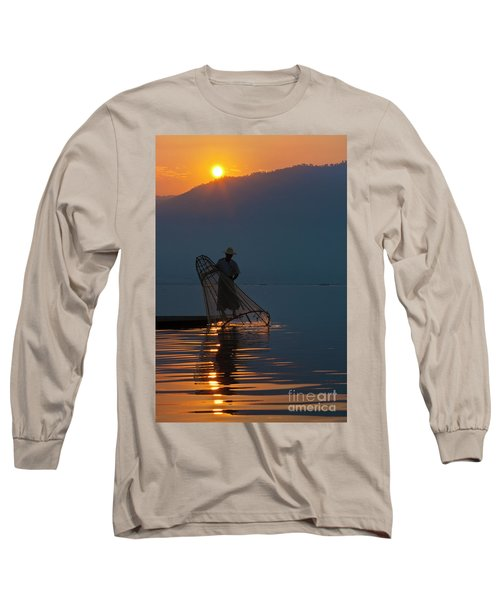 Long Sleeve T-Shirt featuring the photograph Burma_d143 by Craig Lovell
