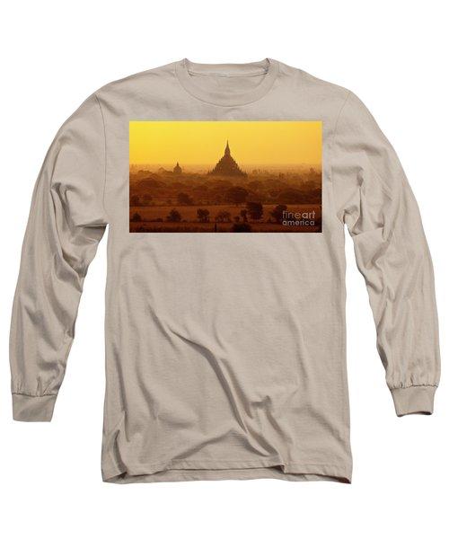 Long Sleeve T-Shirt featuring the photograph Burma_d2227 by Craig Lovell