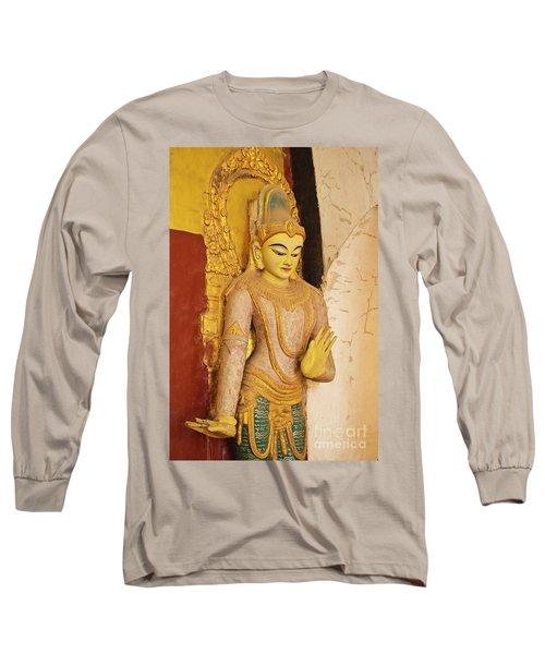 Long Sleeve T-Shirt featuring the photograph Burma_d2257 by Craig Lovell