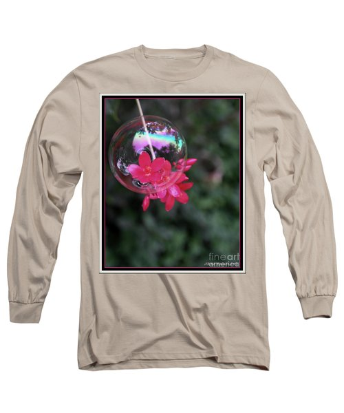 Bursting Free Long Sleeve T-Shirt by Irma BACKELANT GALLERIES