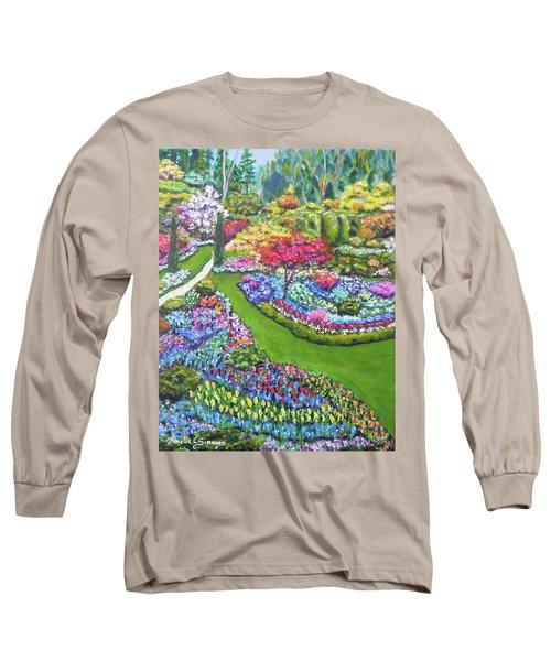 Butchart Gardens Long Sleeve T-Shirt