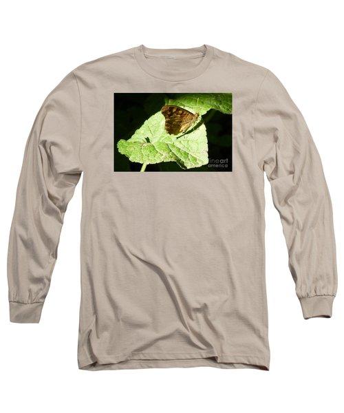 Long Sleeve T-Shirt featuring the photograph Butterfly 2 by Jean Bernard Roussilhe