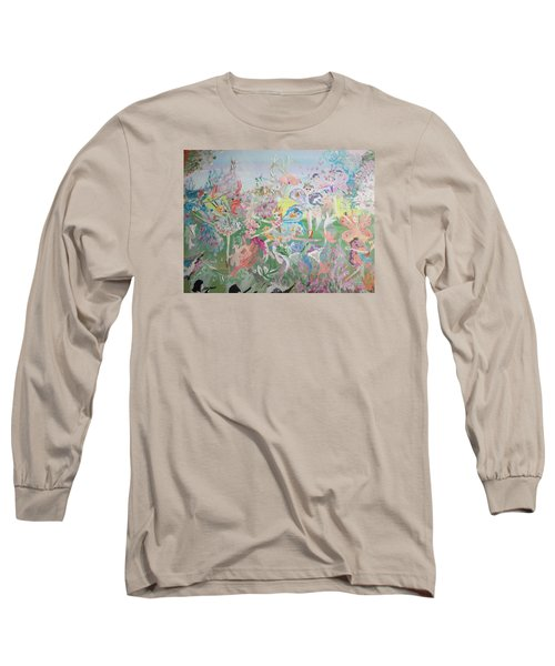 Butterfly Ballet Reflectance Long Sleeve T-Shirt by Judith Desrosiers