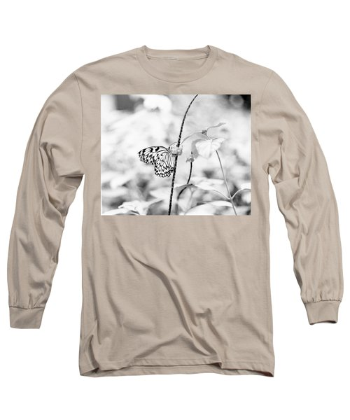 Butterfly Eatting  Long Sleeve T-Shirt