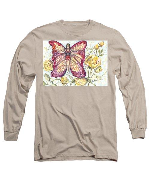 Butterfly Grace Fairy Long Sleeve T-Shirt