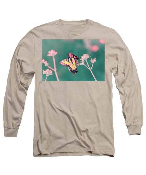 Long Sleeve T-Shirt featuring the photograph Butterfly In Infrared by Brian Hale
