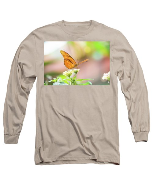 Butterfly - Julie Heliconian Long Sleeve T-Shirt by Pamela Williams