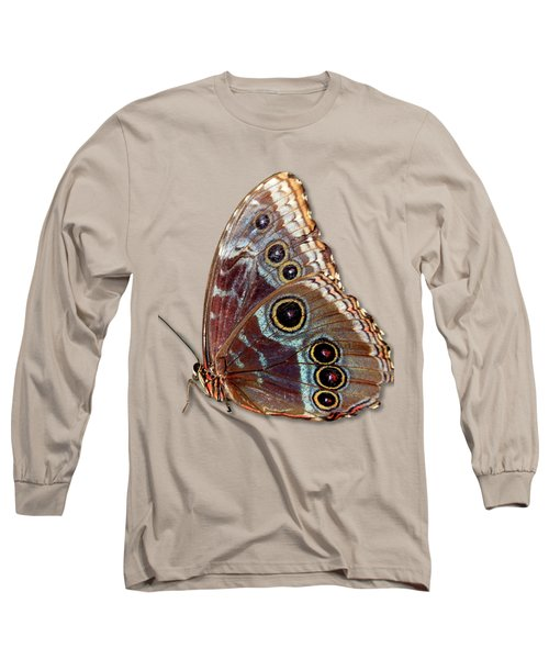 Butterfly Macro Long Sleeve T-Shirt by Bob Slitzan