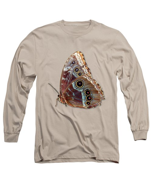 Butterfly Macro Long Sleeve T-Shirt