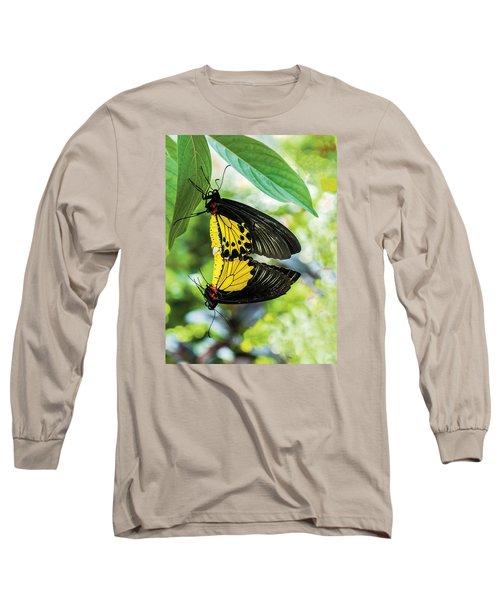 Butterfly Mating Long Sleeve T-Shirt