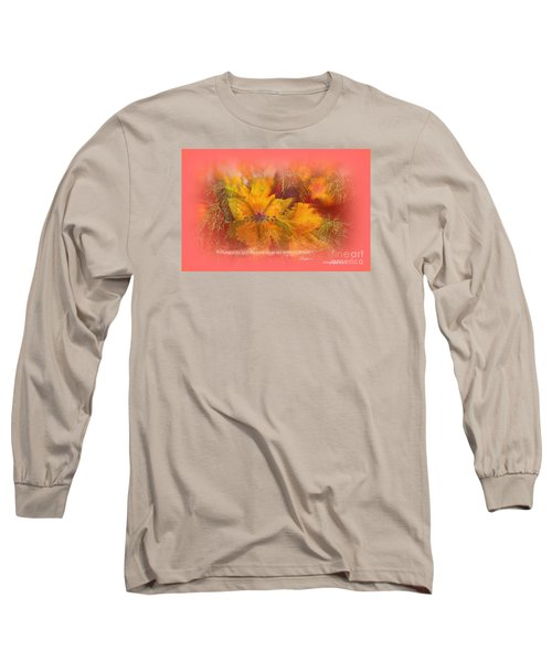 Butterfly Of Love And Peace Long Sleeve T-Shirt by Sherri's Of Palm Springs