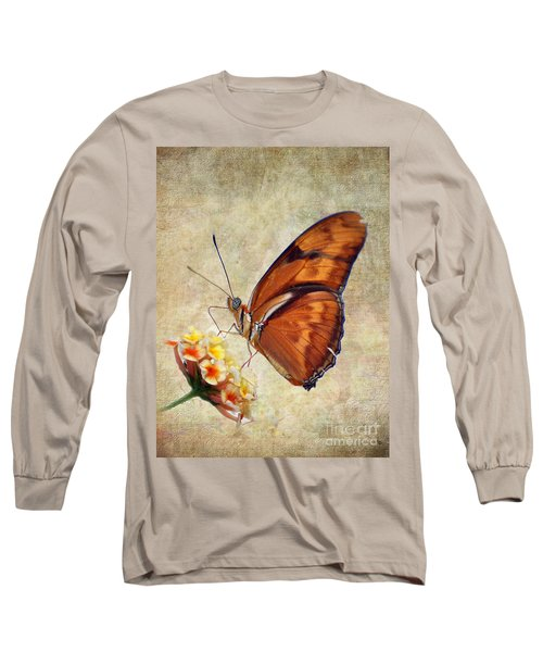 Butterfly Long Sleeve T-Shirt by Savannah Gibbs