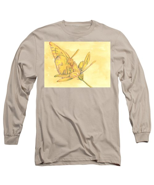 Butterfly  Long Sleeve T-Shirt by Versel Reid