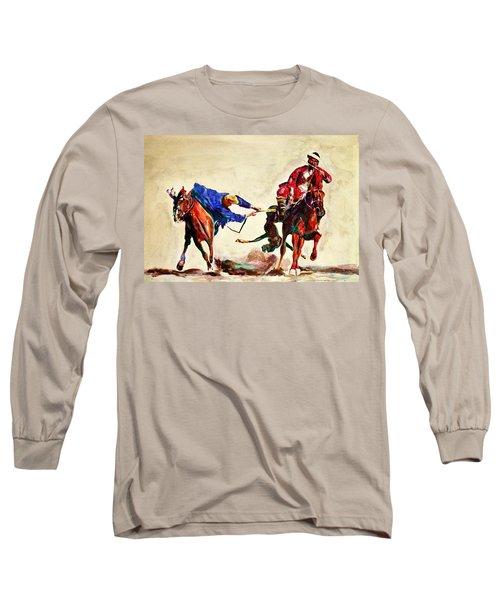 Buzkashi, A Power Game Long Sleeve T-Shirt