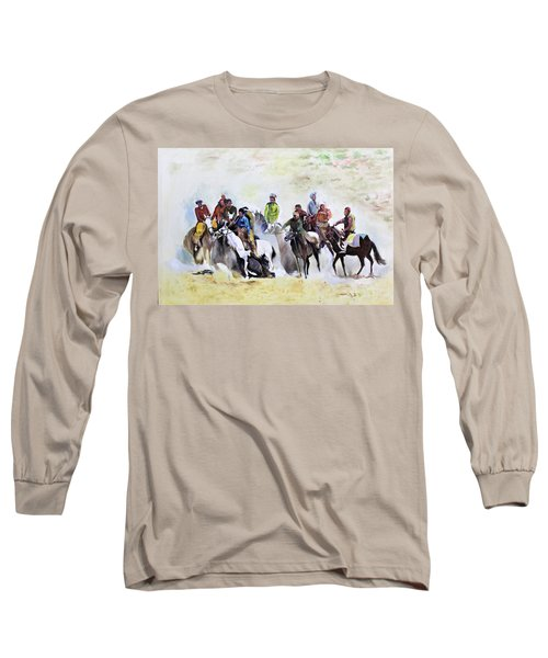 Buzkashi Sport Long Sleeve T-Shirt