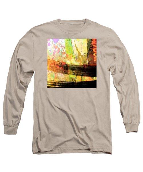 C D Art Long Sleeve T-Shirt by Bob Pardue