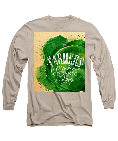 Cabbage Long Sleeve T-Shirt by Aloke Creative Store