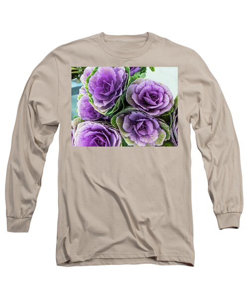 Cabbage Flower Long Sleeve T-Shirt