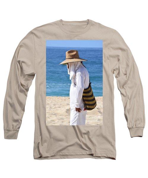 Cabo Beach Hawker. Long Sleeve T-Shirt