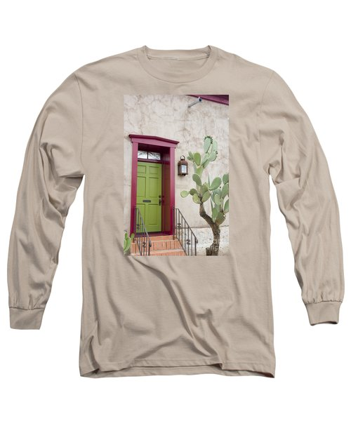 Cactus And Doorway Long Sleeve T-Shirt