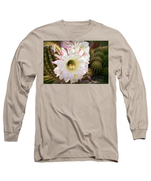 Cactus Bloom 2 Long Sleeve T-Shirt