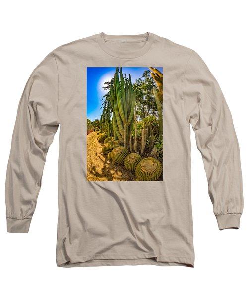 Cactus Promenade Long Sleeve T-Shirt