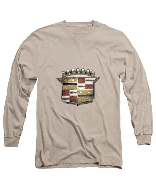 Cadillac Badge Long Sleeve T-Shirt