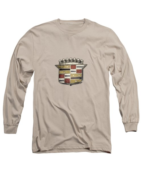 Cadillac Badge Long Sleeve T-Shirt