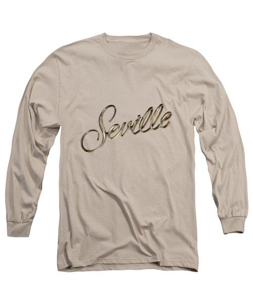 Cadillac Seville Emblem Long Sleeve T-Shirt