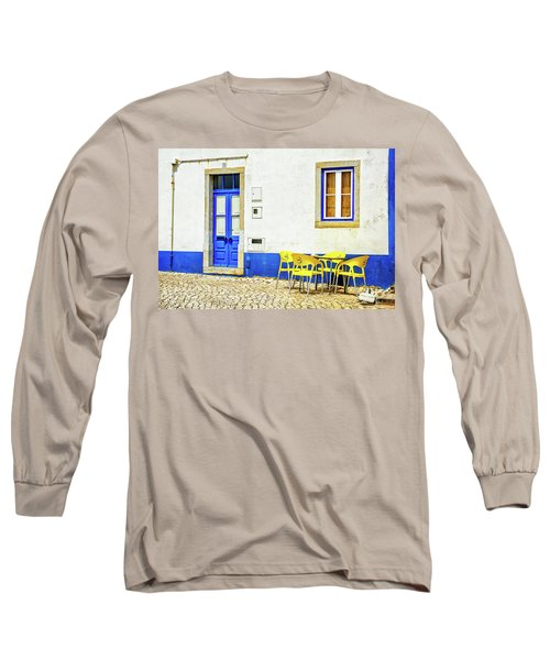 Cafe In Portugal Long Sleeve T-Shirt