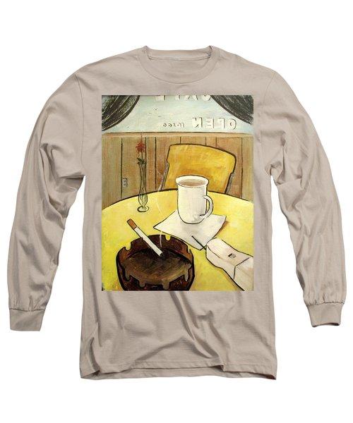 Cafe Still Life Long Sleeve T-Shirt