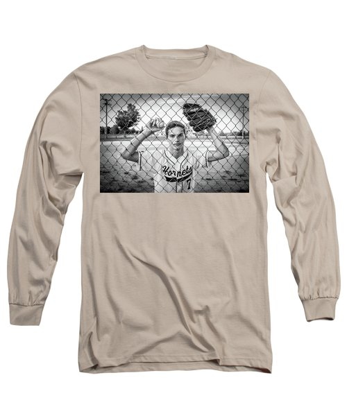 Long Sleeve T-Shirt featuring the photograph Caged Competitor by Bill Pevlor