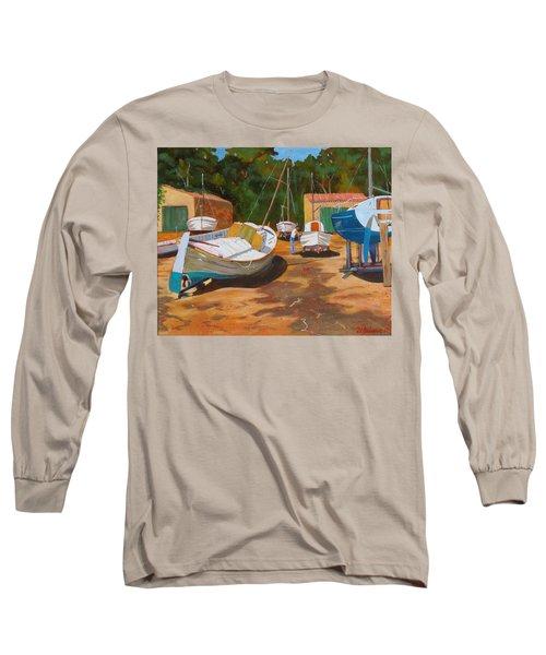 Cala Figuera Boatyard - I Long Sleeve T-Shirt