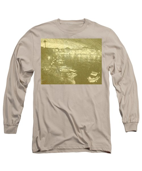 Cala Fonts At Night Long Sleeve T-Shirt