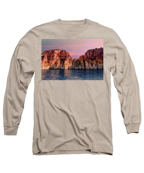 Calanques De Marseille .  Long Sleeve T-Shirt