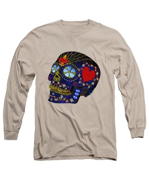 Calavera Del Azucar Long Sleeve T-Shirt