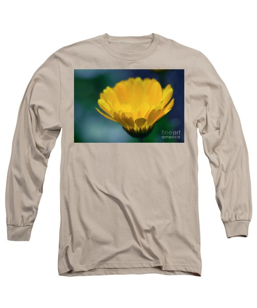 Long Sleeve T-Shirt featuring the photograph Calendula by Sharon Mau