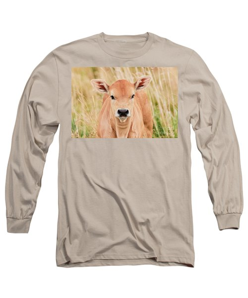 Calf In The High Grass Long Sleeve T-Shirt